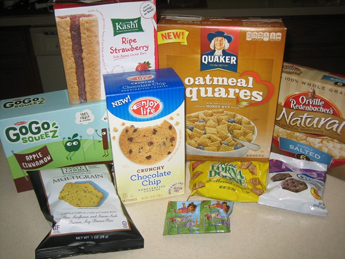 Nut-Free, Dairy-Free, Egg-Free snacks